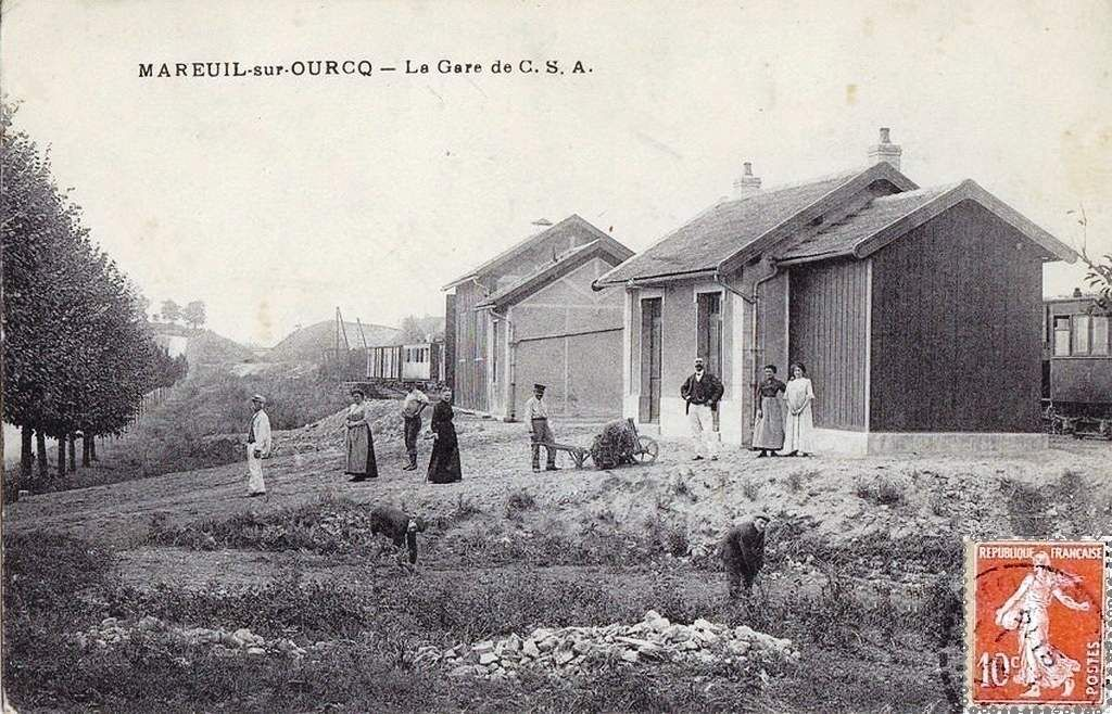 CP gare de Mareuil sur Ourq (60)