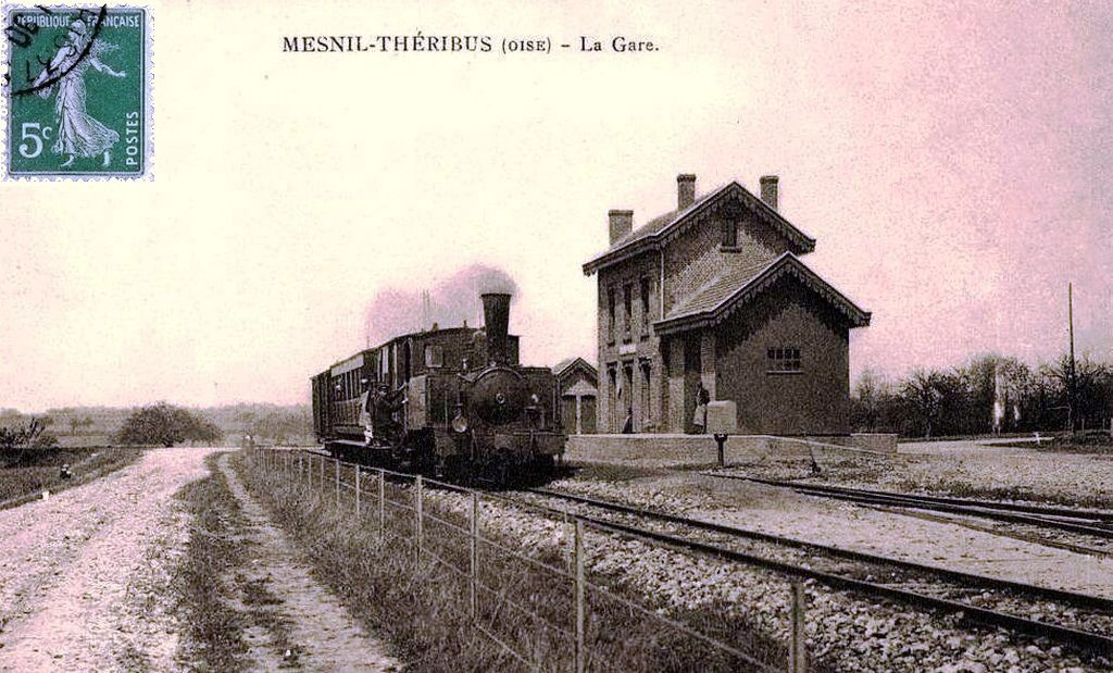 CP gare de Le Mesnil-Théribus  (60)