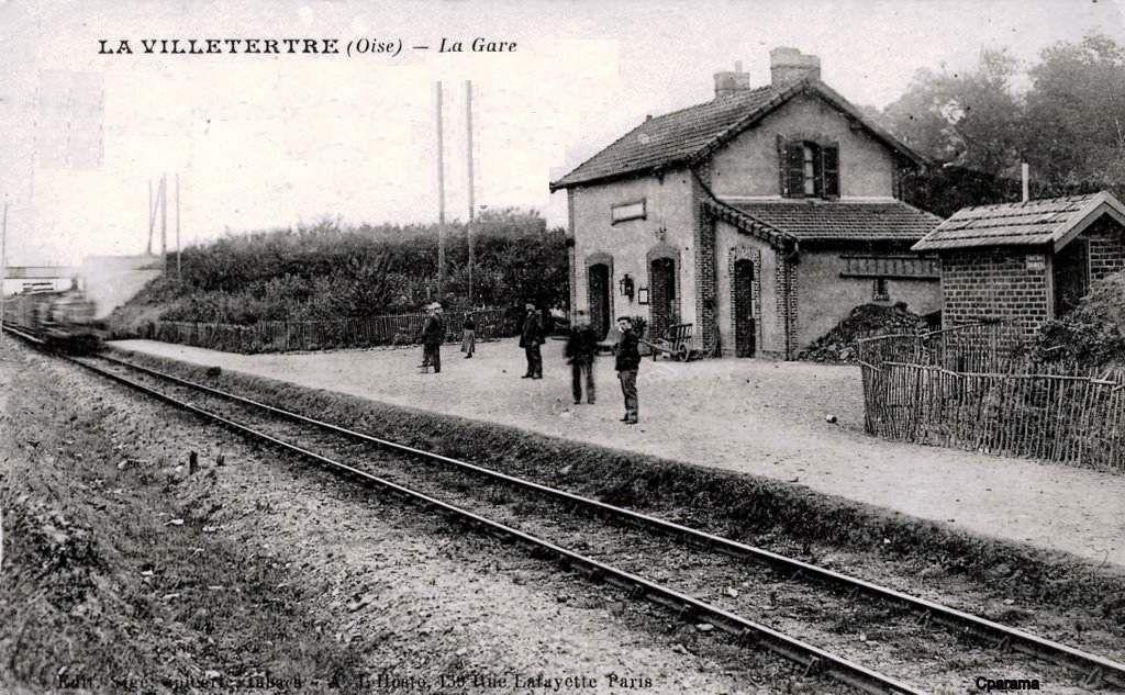 CP gare de La Villetertre (60)