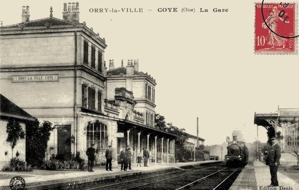 CP gare de Orry-la-ville / Coye (Oise)