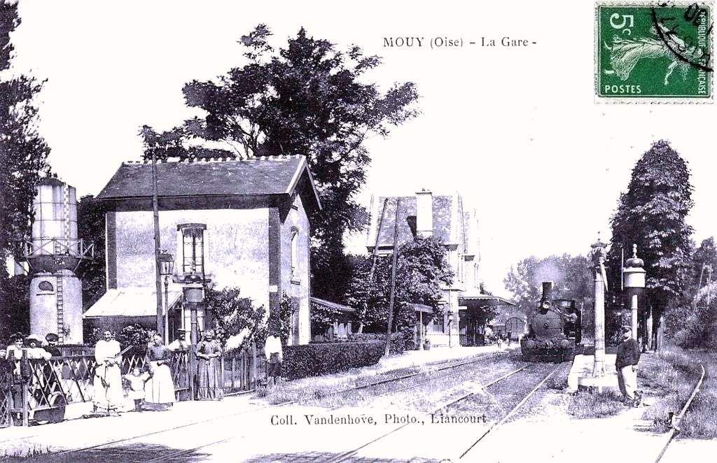 CP gare de Mouy (Oise)