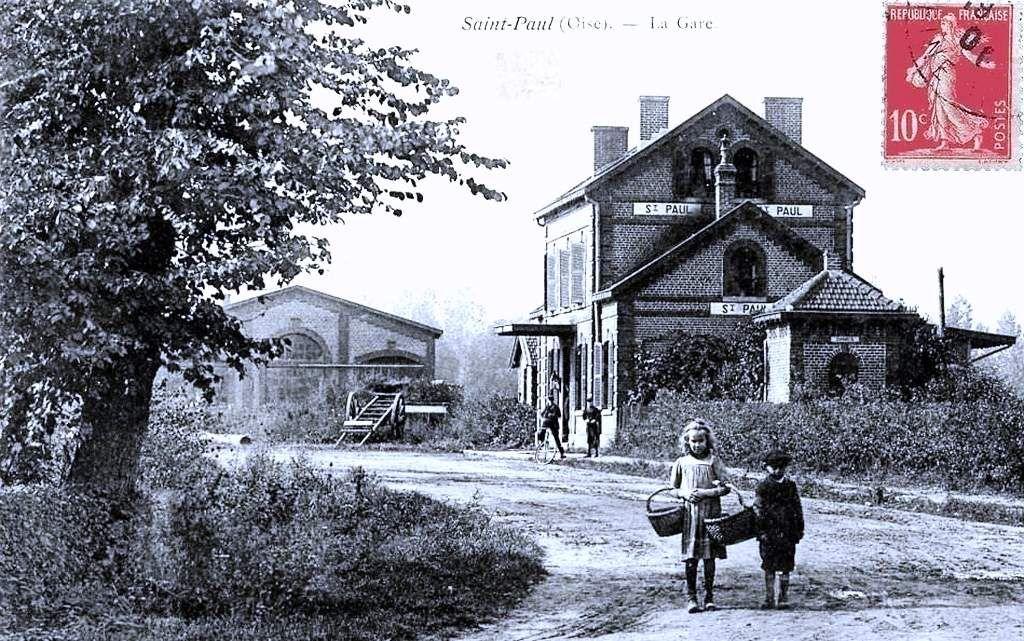 CP gare de Saint Paul (Oise)