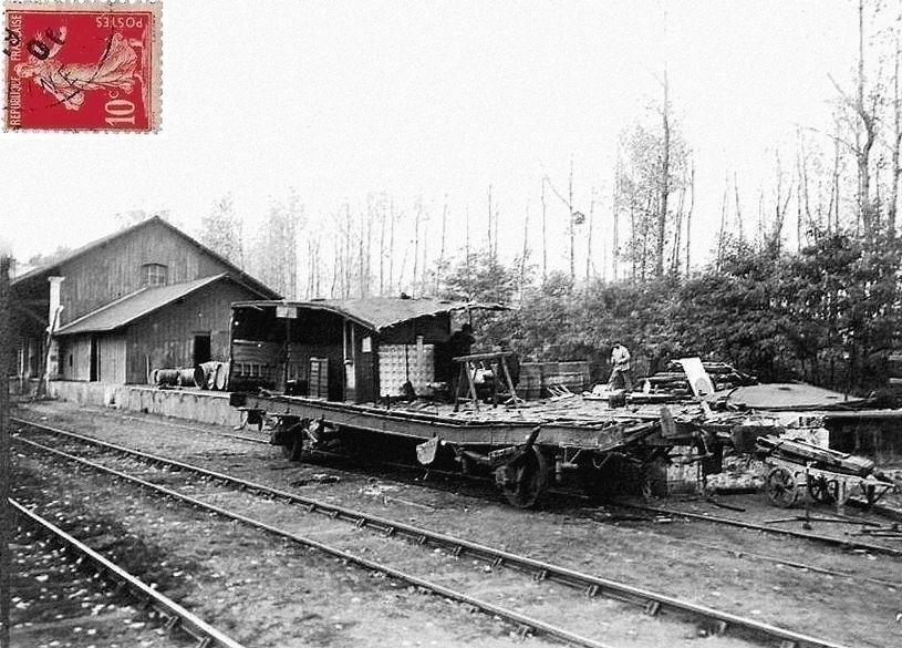 CP Accident férroviaire de Choulzy octobre 1904