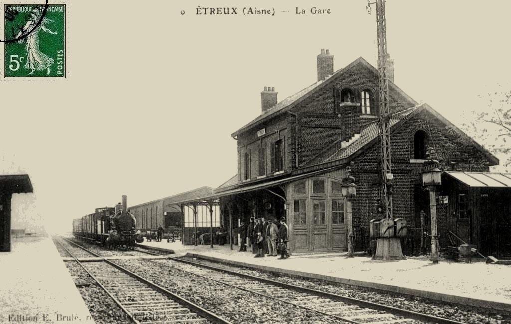 CP gare d'Etreux