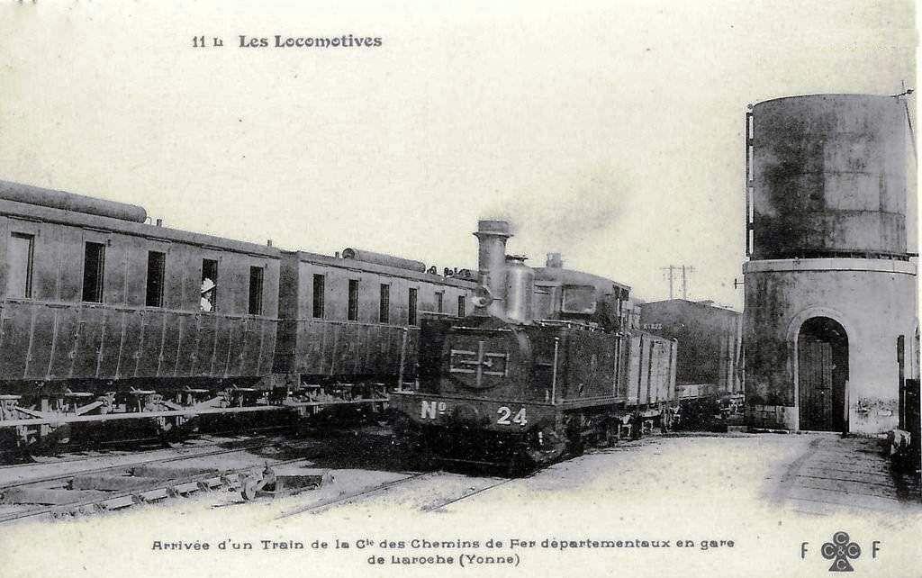 CP gare de Laroches Migennes