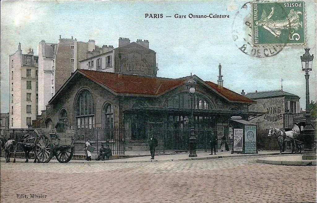 CP petite ceinture Gare d'Ornano
