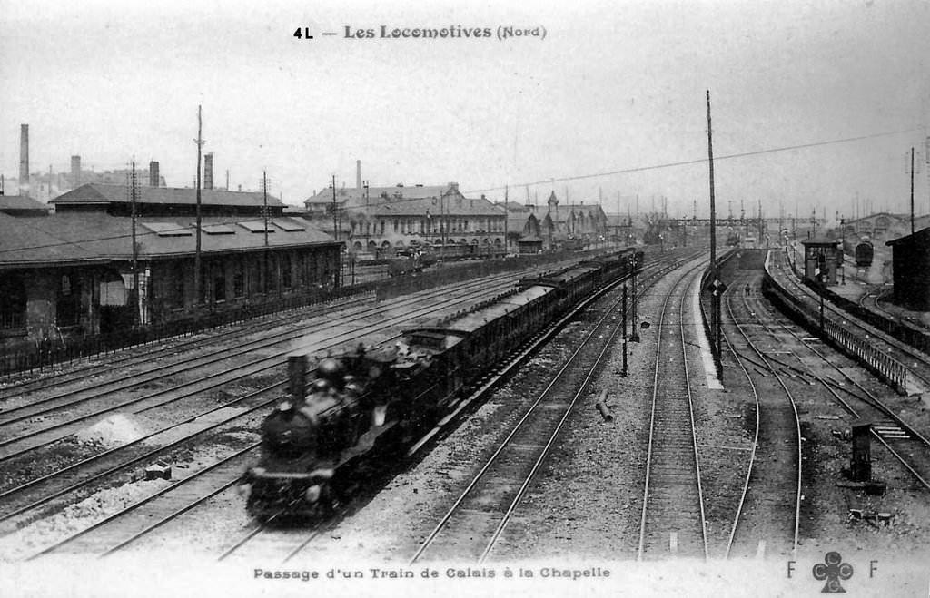 CP petite ceinture Gare de la Chapelle