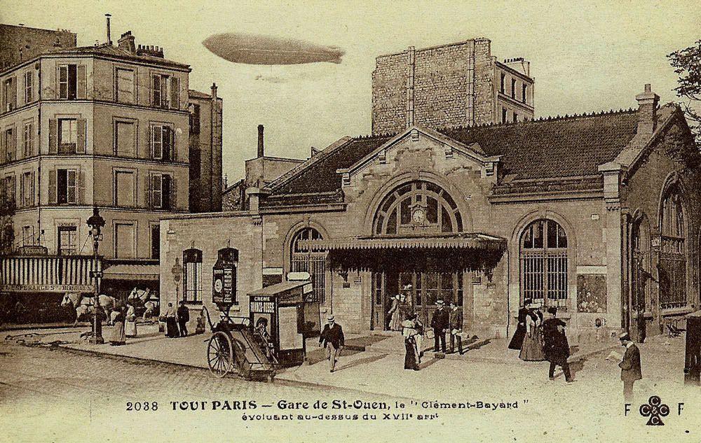 CP petite ceinture Gare de  St Ouen (1)