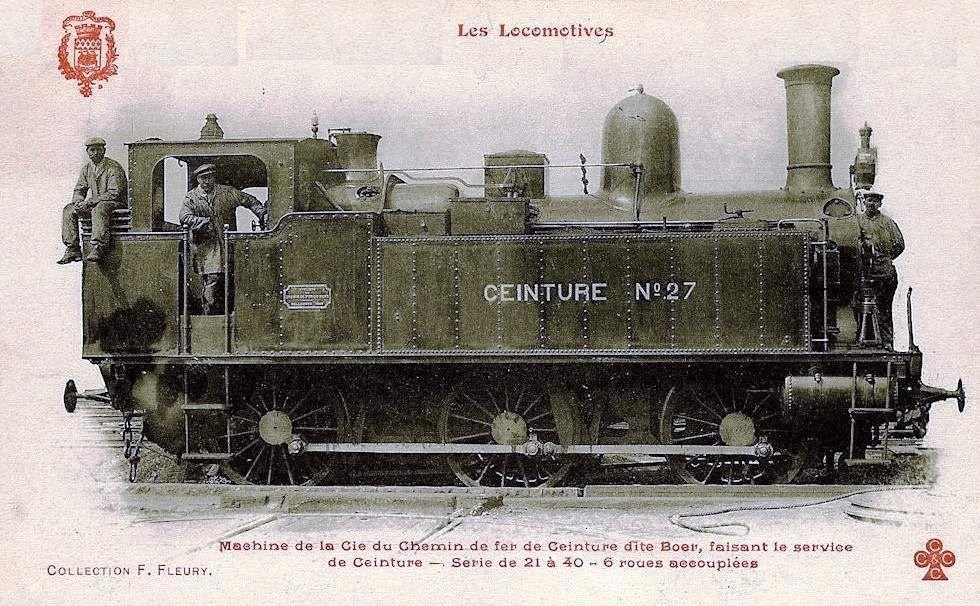 CP petite ceinture locomotive vapeur 030 (1)