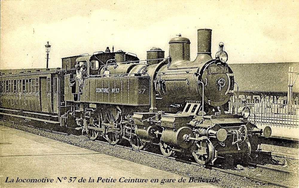 CP locomotive 230 n°57 (petite ceinture)