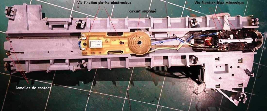 Cablages Pont tournant Fleischmann, module TT-DEC de chez LDT et centrale ECoS de chez ESU