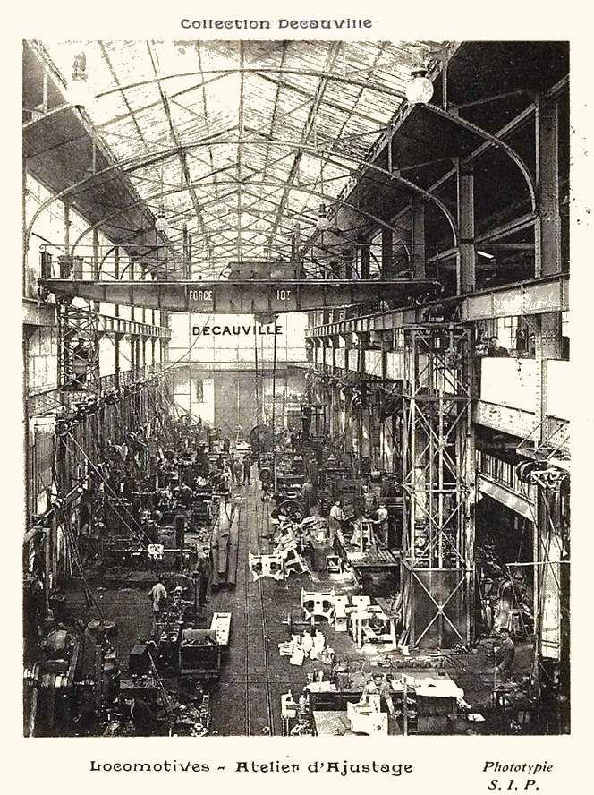 Ateliers de construction de matériels ferroviaires Decauville CP n°3