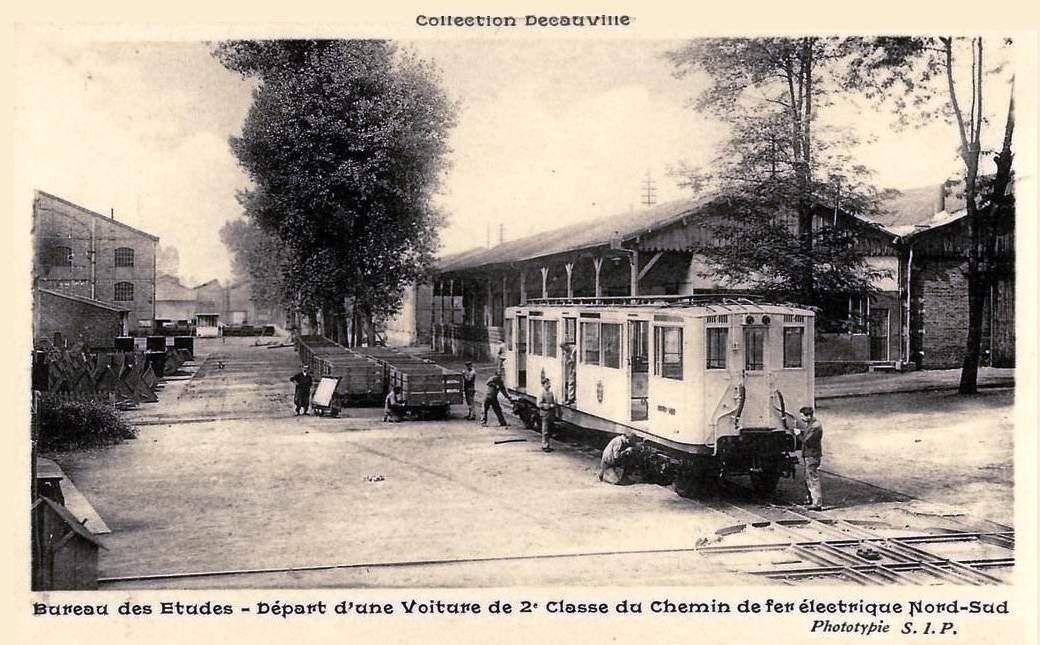 Ateliers de construction de matériels ferroviaires Decauville CP n°2
