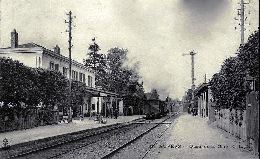 CP gare d'Auvers sur Oise n°1
