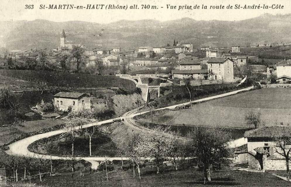 CP de la gare de Saint-martin-en-haut (2)
