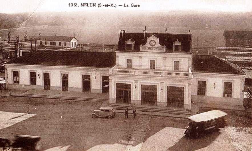 CP de la gare de Melun