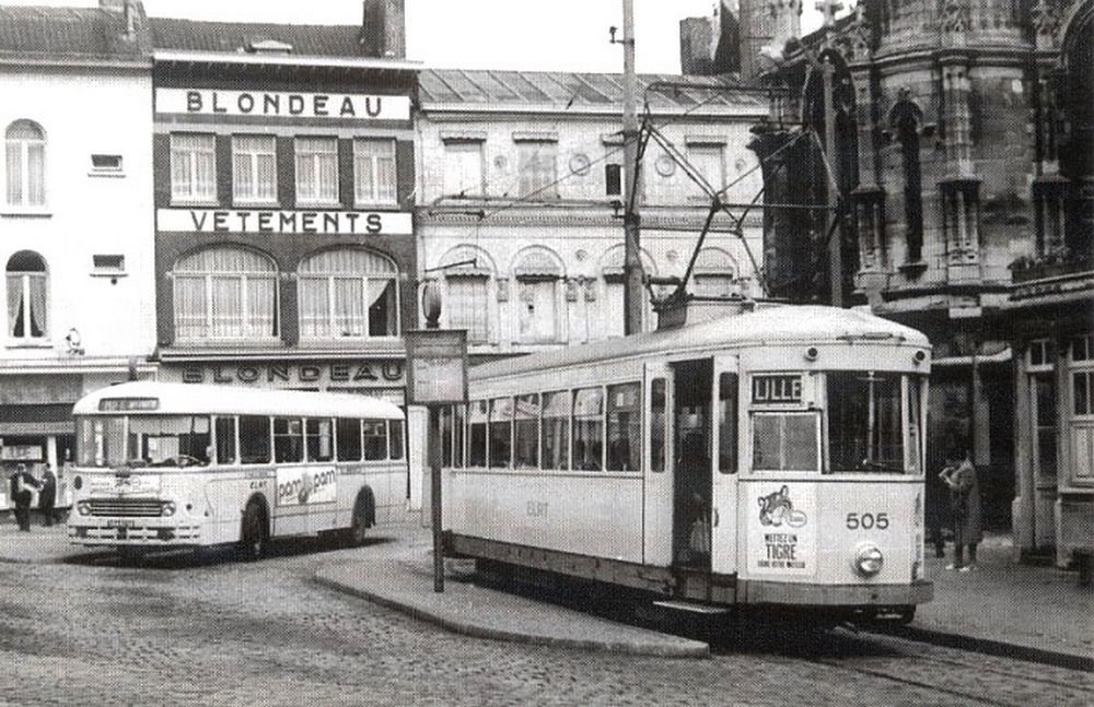 Lille Tramway & autobus ligne Tourcoing