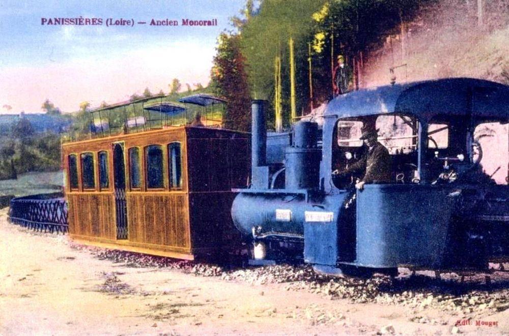ancien mono rail à Panissière