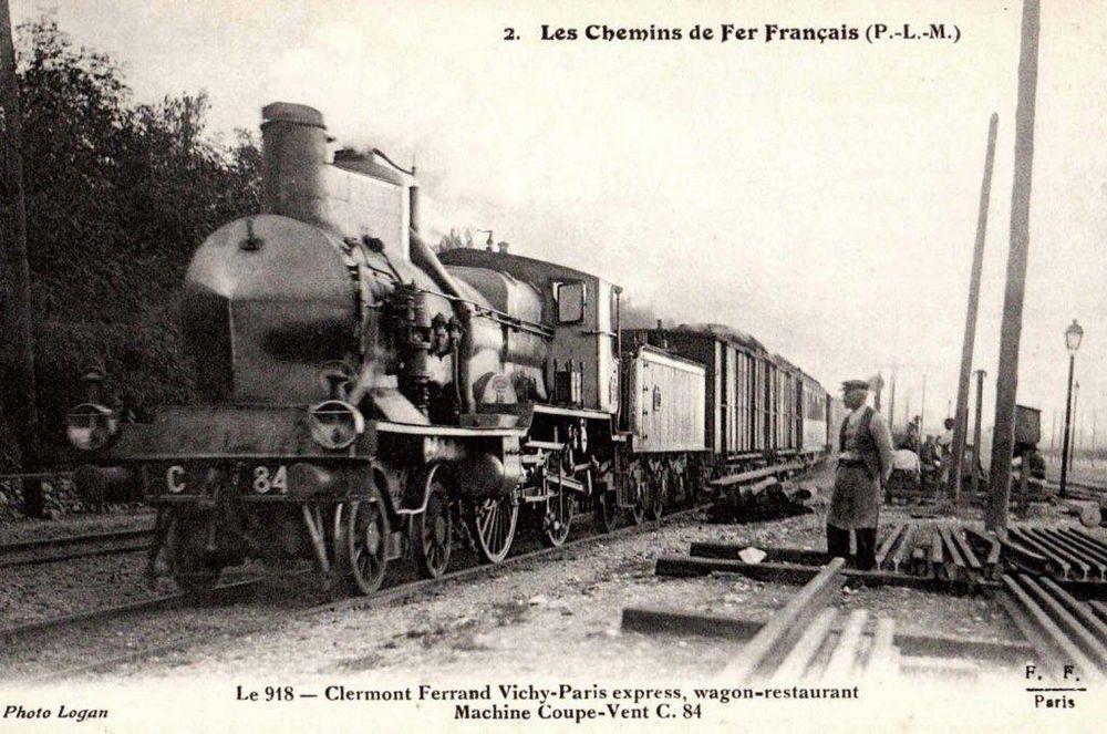 Train Clermont-Ferrand / Vichy et Paris