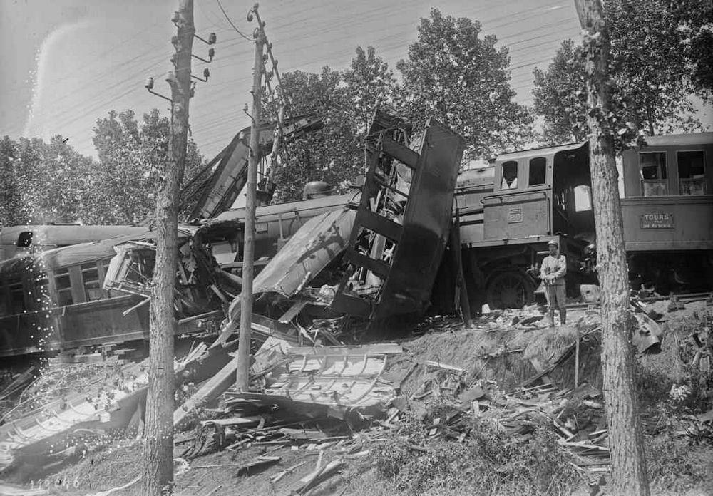 Accident ferroviaire du 29 janvier 1924 sur la ligne Paris-Tours par Vendôme