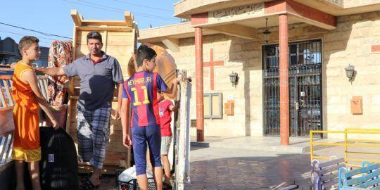 si leur ville est libérée, les chrétiens de Mossoul se posent encore beaucoup de questions sur l'avenir de celle-ci...
