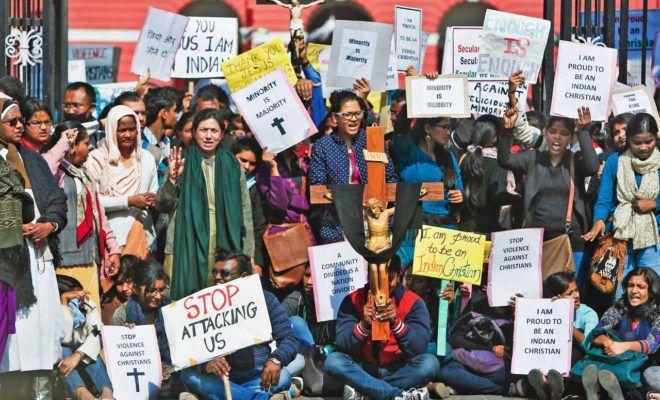 Après une année 2017 traumatisante pour les chrétiens en Inde, les faits de persécution se multiplient et l'escalade des violences antichrétiennes se poursuit.(photo : CSI)
