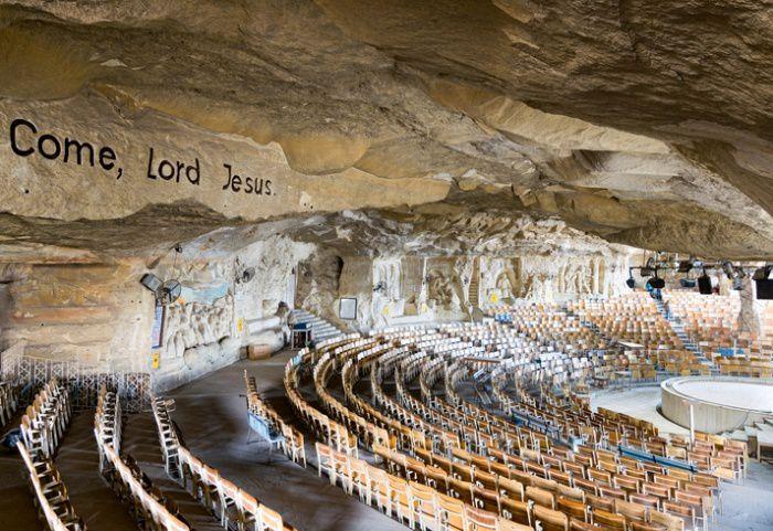 Une église troglodyte en Egypte (photo : Istock)