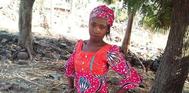 Leah Sharibu avant son enlèvement par Boko Haram. (photo : Portes Ouvertes)