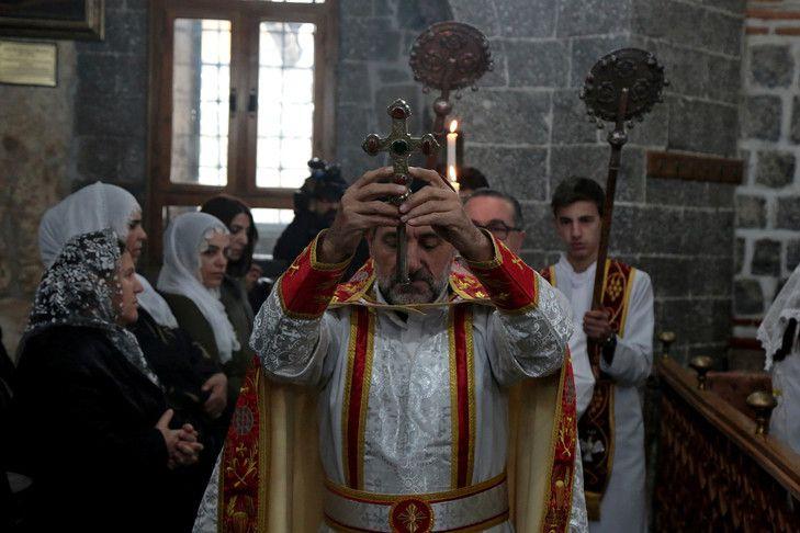 Cette autorisation concerne l'église syrienne orthodoxe. De bonne augure pour les autres dénominations dans le futur? (Photo : Sertac Kayar/REUTERS)