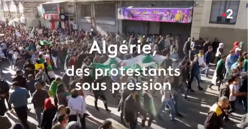 Présence protestante, Protestants d'Algérie, 19 mai 2019 . (photo : capture d'écran/ France2)
