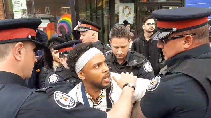Un évangéliste canadien a été arrêté pour trouble à l'ordre public après avoir annoncé la parole de Dieu dans un quartier de Toronto à majorité gay. (photo : DR)