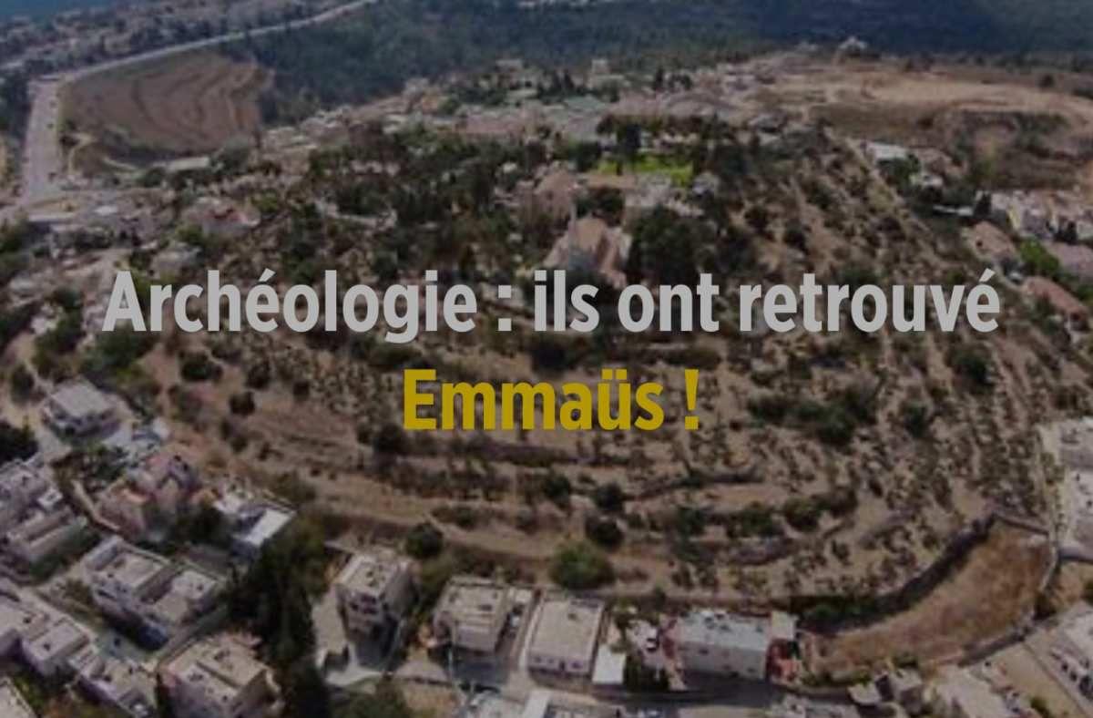 Des chercheurs français et israéliens affirment avoir identifié le site où, selon les Évangiles, le Christ était apparu à deux pèlerins, au matin de sa résurrection.