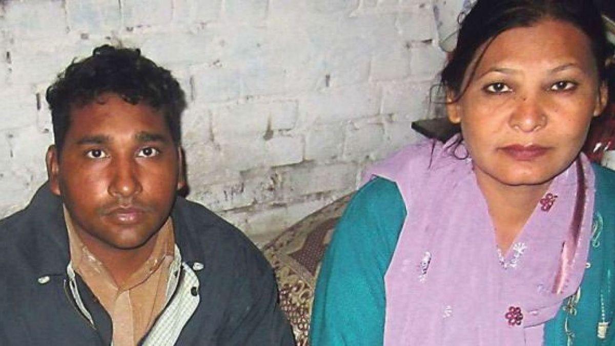 Shagufta Kauser et  son mari  Shafqat Masih dont le seul crime... est d'être chrétiens !