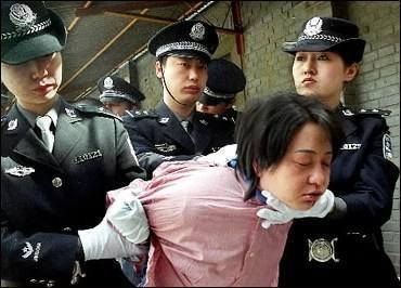 Arrestation de chrétens de l'église shouwang de Pekin en mars 2019 . (photo : DR)