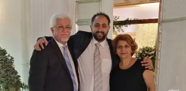 Ramiel Bet-Tarmaz, avec ses parents Victor et Shamiram (photo: article 18)