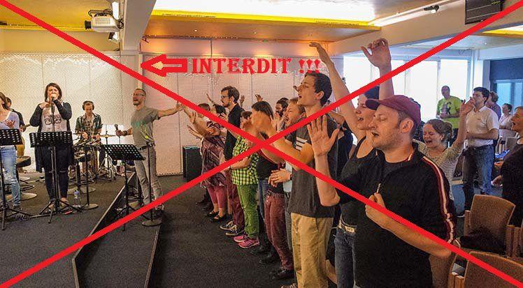 Certains pasteurs allemands se demandent s'il vaut la peine de reprendre les cultes dans ces conditions... photo : (Gebetshaus d'Augsbourg/DR )