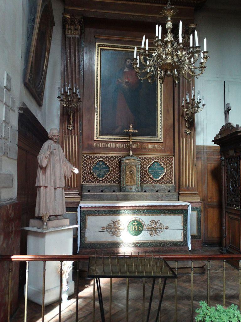 Chapelle latérale du Sacré-Cœur