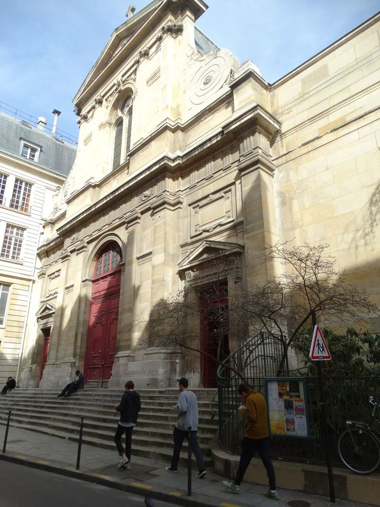 Paris 4ème arrondissement – Eglise Notre-Dame des Blancs-Manteaux