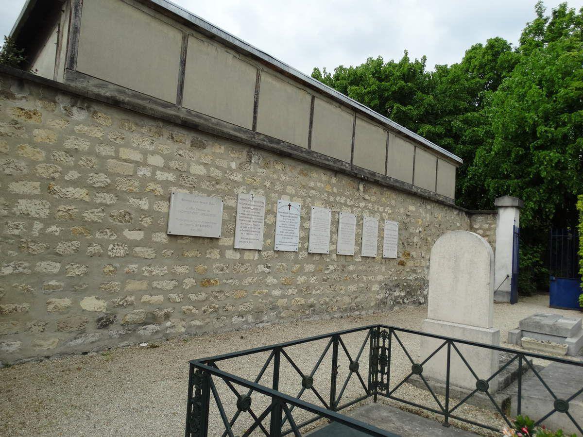 Paris - 12ème arrondissement - Cimetière de Picpus