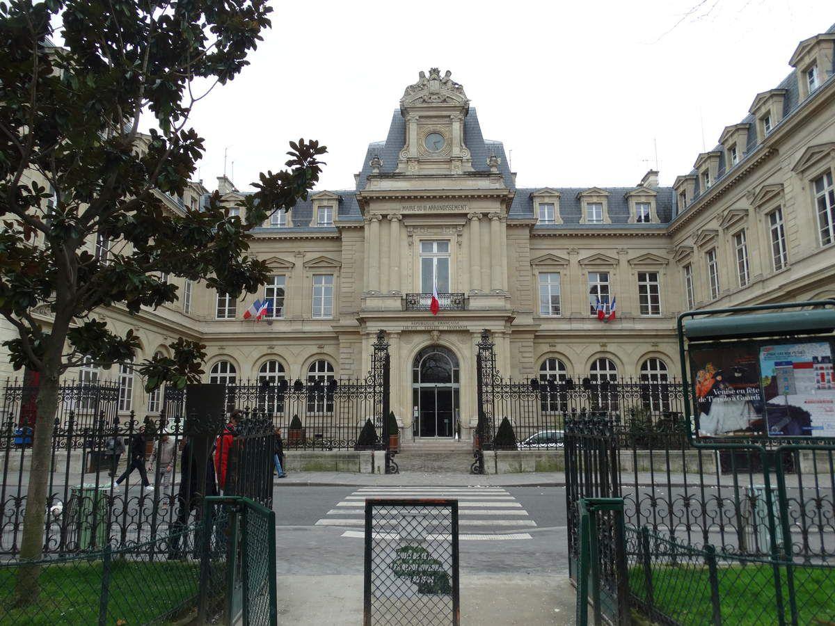 Mairie du 3e arrondissement de Paris - 2 Rue Eugène Spuller, 75003 Paris