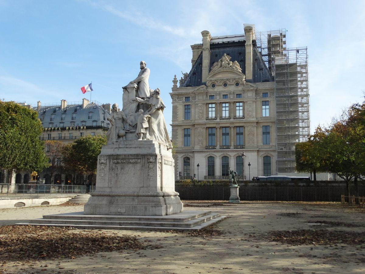 « Monument à Jules Ferry » (1910)  - Gustave Michel.
