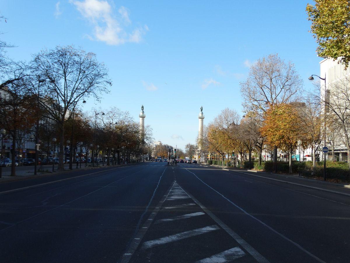 Paris Les Colonnes Du Trone Bernard K Project