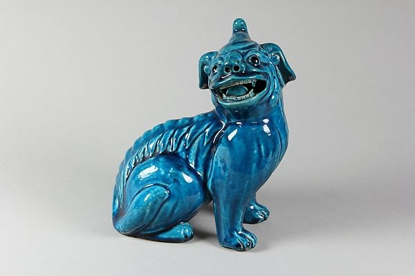 Chine – « Figure of a Dog » - dynastie Qing (1644–1911) - première moitié du 19ème siècle – Metropolitan Museum of Art, New-York, USA  – photo : © Metropolitan Museum of Art.
