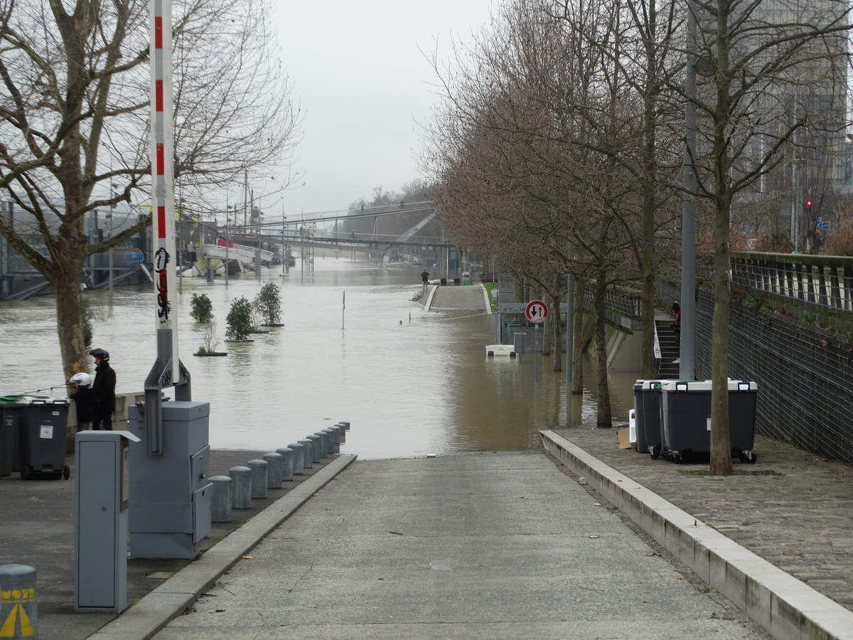 Paris – 27 janvier 2018 – Crue de la Seine