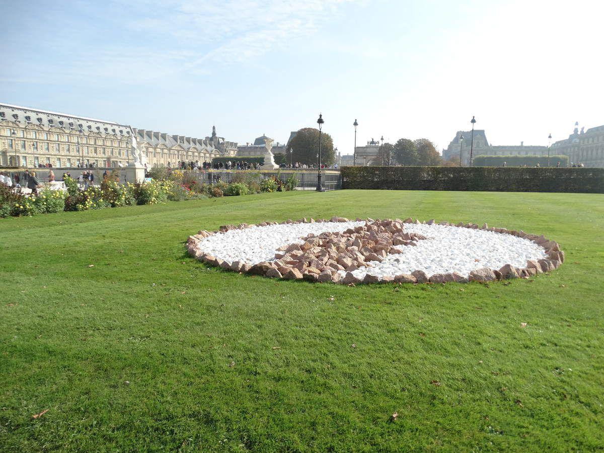 Paris – Jardin des Tuileries – FIAC Hors les Murs  (2ème partie)