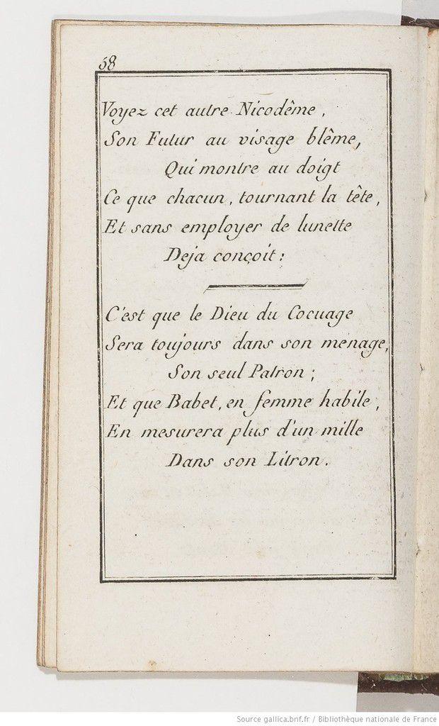 Almanach des marchés de Paris, étrennes curieuses et comiques avec des chansons intéressantes... Novembre (1787) - Source : gallica.bnf.fr / Bibliothèque nationale de France