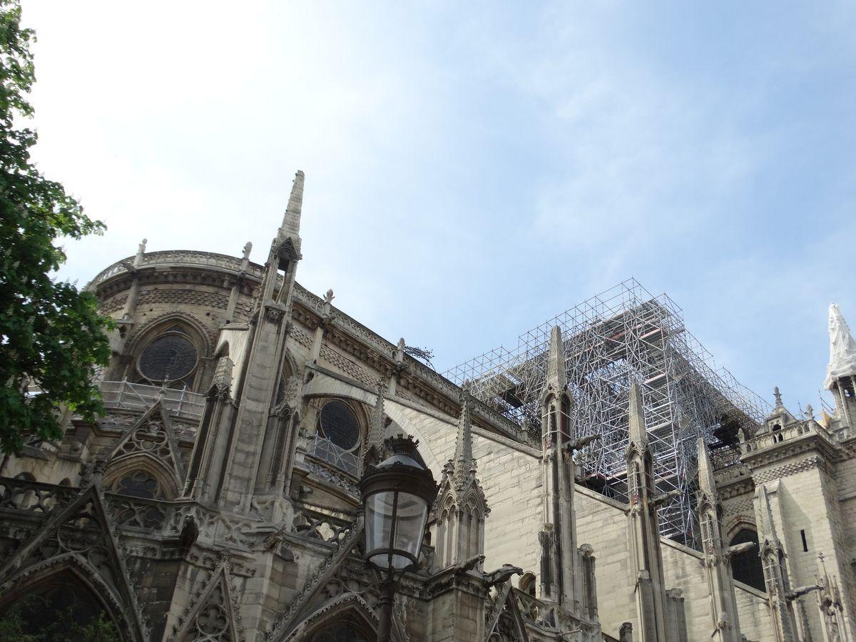 Notre-Dame de Paris – 21 avril 2019
