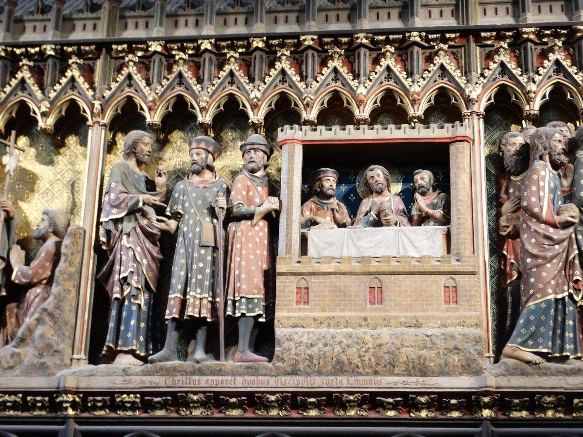 Cathédrale Notre-Dame de Paris. La clôture du chœur.