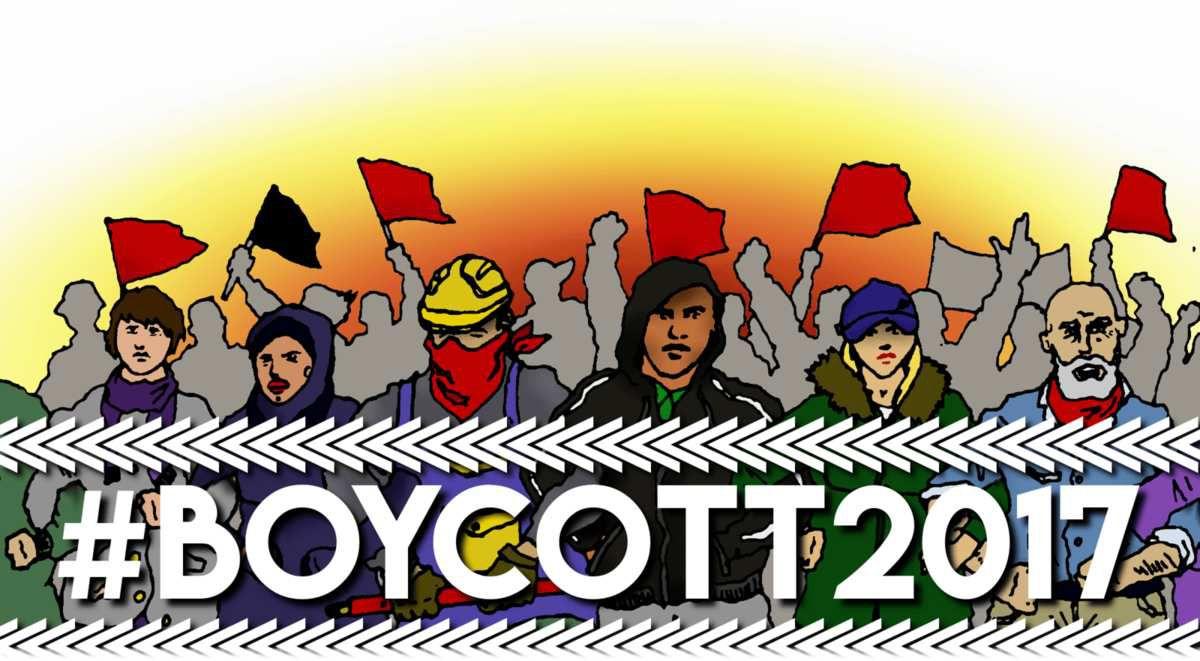 Autre appel Boycott 2017
