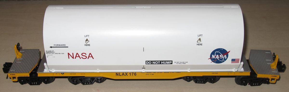 MTH Premier 47' TTX Heavy Duty Flat Car